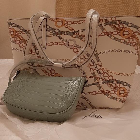 INC International Concepts Handbags - INC International Concepts 2 in 1 tote
